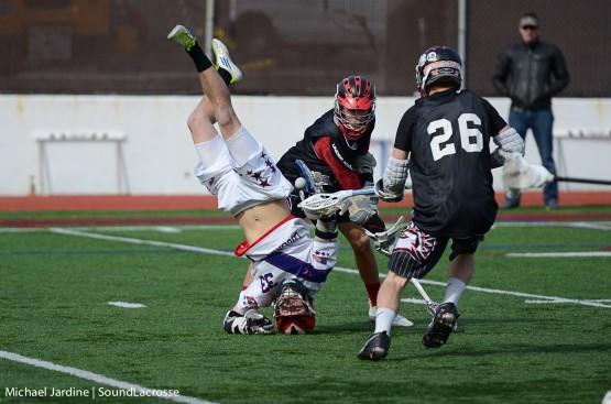 lacrosse headstand faceoff flip