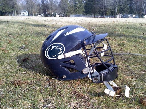 penn state lacrosse helmet PLH