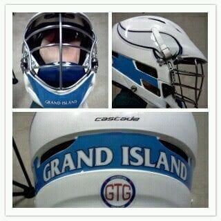 Grand Island lacrosse Helmets