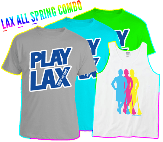 LAS Spring 'Play Lax' Combo