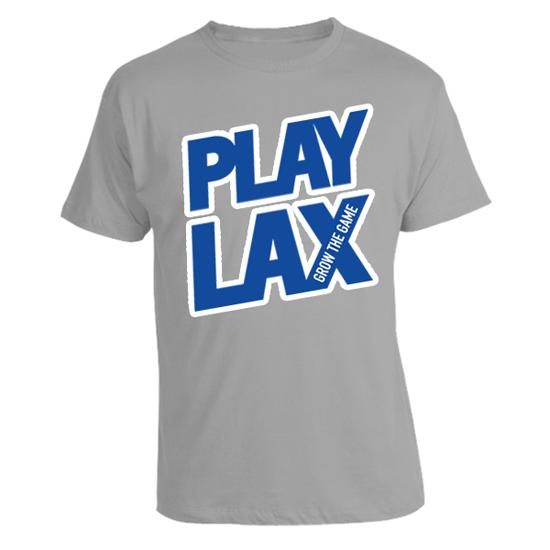 LAS Spring 'Play Lax' in Grey