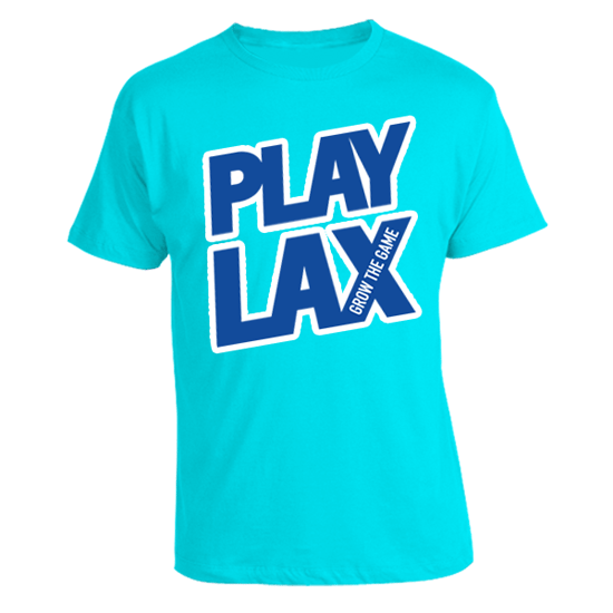 LAS Spring 'Play Lax' in Turquoise