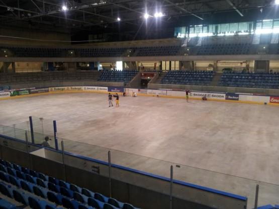 Dresden germany concrete hockey rink box lacrosse