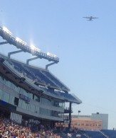 Fly over from the Rhode Island National Guard