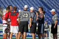 Captains and Refs Meet Pre-game