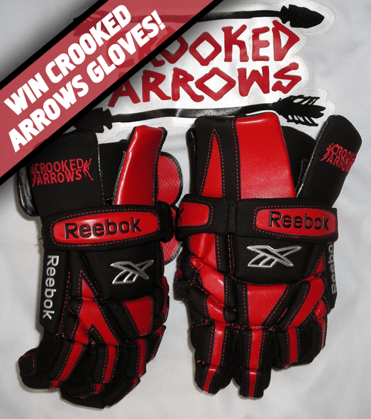 Crooked Arrows Lacrosse Gloves Giveaway