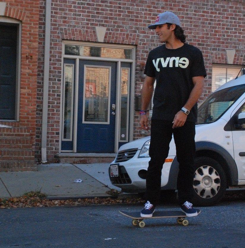 paul rabil skateboard