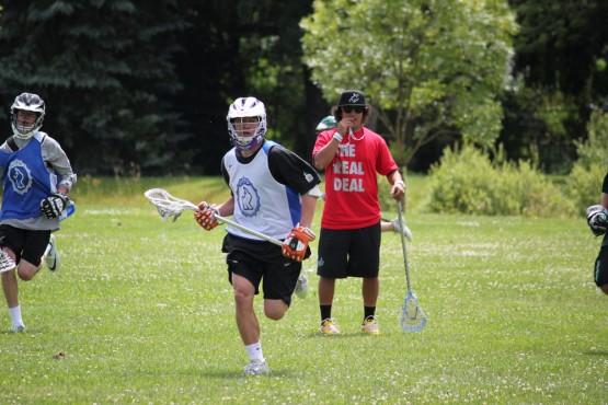 Mario Ventiquattro at Rhino Lacrosse Camp
