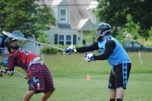 funny lacrosse photo