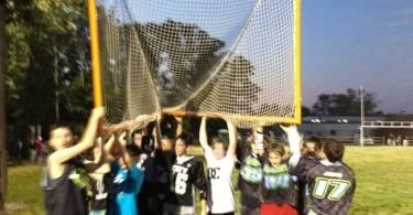 lacrosse team move goal