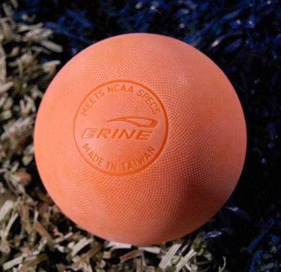 mll lacrosse ball by Brine lacrosse