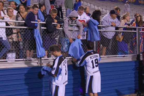 mll lacrosse autograph sign