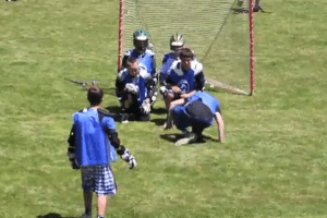 World Famous Rhino Lacrosse Goal Celebrations