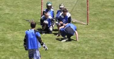 World Famous Rhino Lacrosse Goal Celebrations