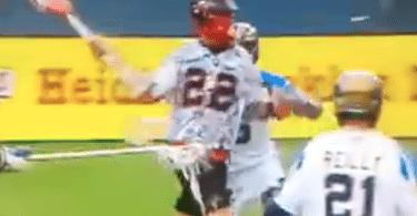 Mark Matthews one hand denver MLL goal