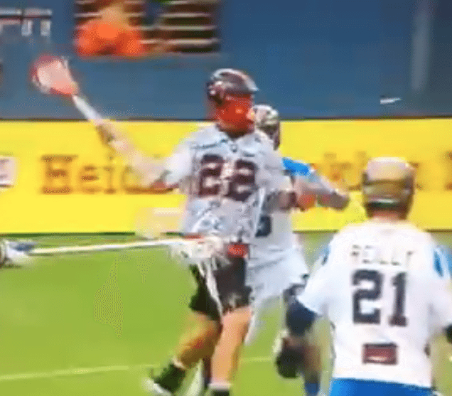 Mark Matthews one hand denver MLL goal