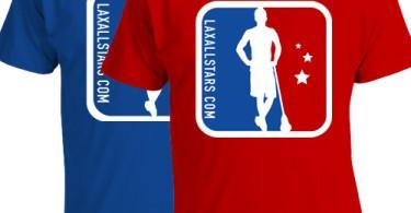 Lax All Stars Logo Tees