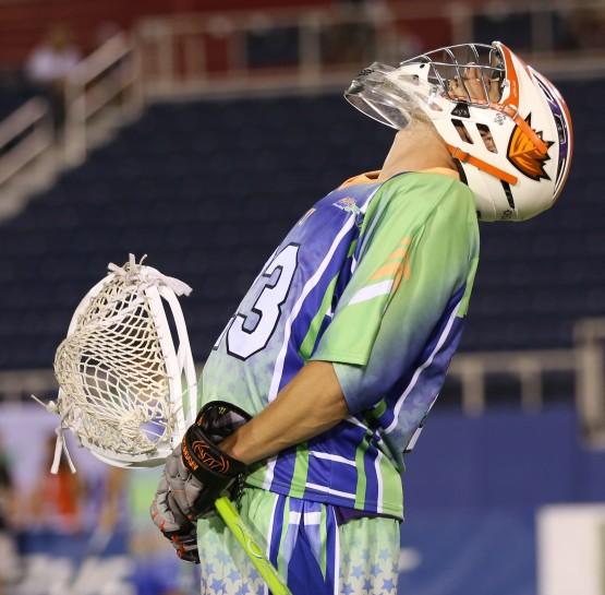 brett queener MLL all star game