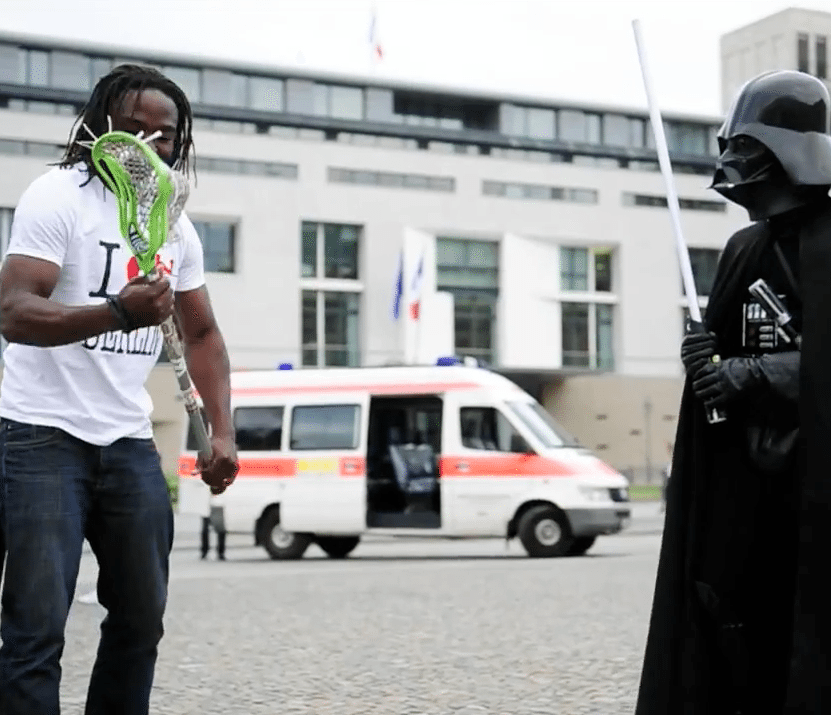 johnny christmas lacrosse berlin darth vader