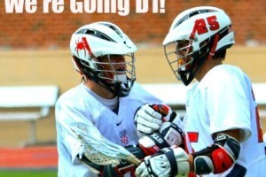 Goal_Celebration for richmond lacrosse going d1
