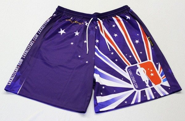 Team LaxAllStars.com Shorts