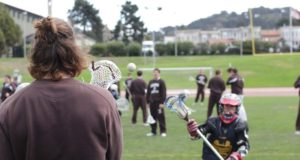 Youth Clinic at 2012 San Francisco Fall Lacrosse Classic Right With Youth Lacrosse