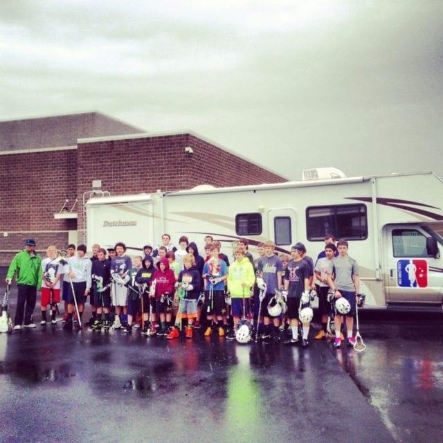 GTG Lacrosse Clinic in Hermiston, Oregon