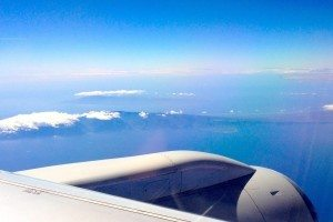 wing view - hawaii
