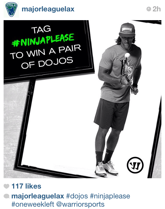 Warrior Lacrosse Ninja Please Marketing Campaign