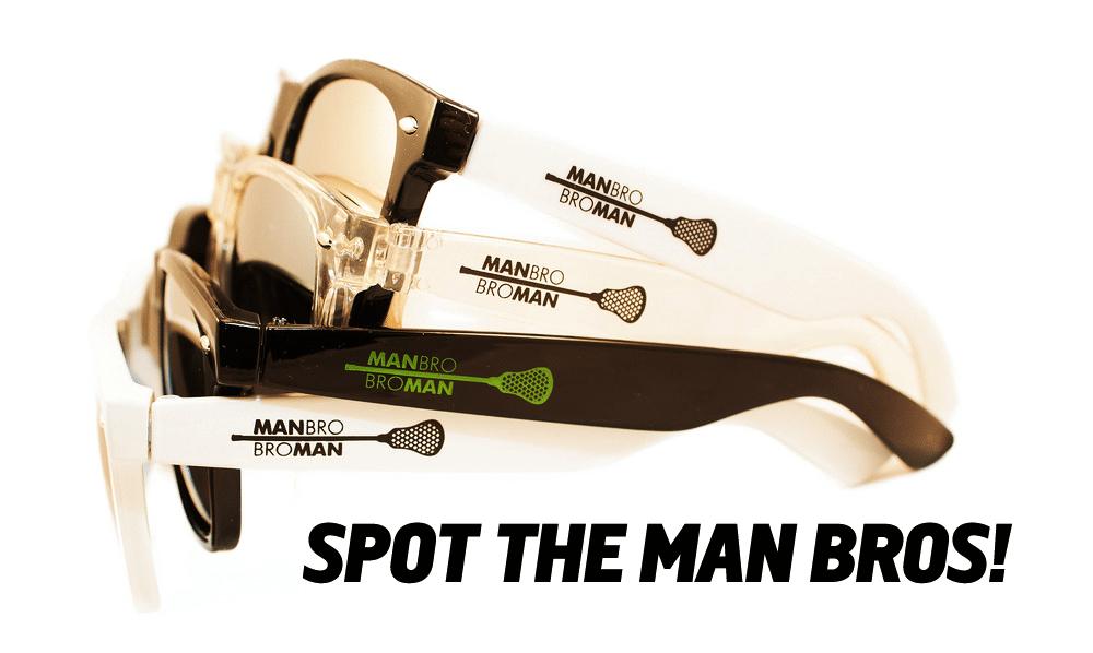 Man Bro Bro Man Sunglasses - Classic 4-pack