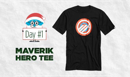 12 Days of Laxmas: Day 1, Maverik Hero Tee