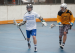 NYC Box Lacrosse - Drew Wichmann and James Synowiez