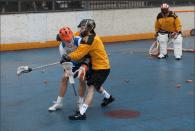 NYC Box Lacrosse Joe Williams and Tim Wojcik