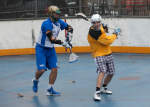 NYC Box Lacrosse - Drew Geiger and James Synowiez