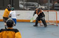 NYC Box Lacrosse - New Goalie making saves