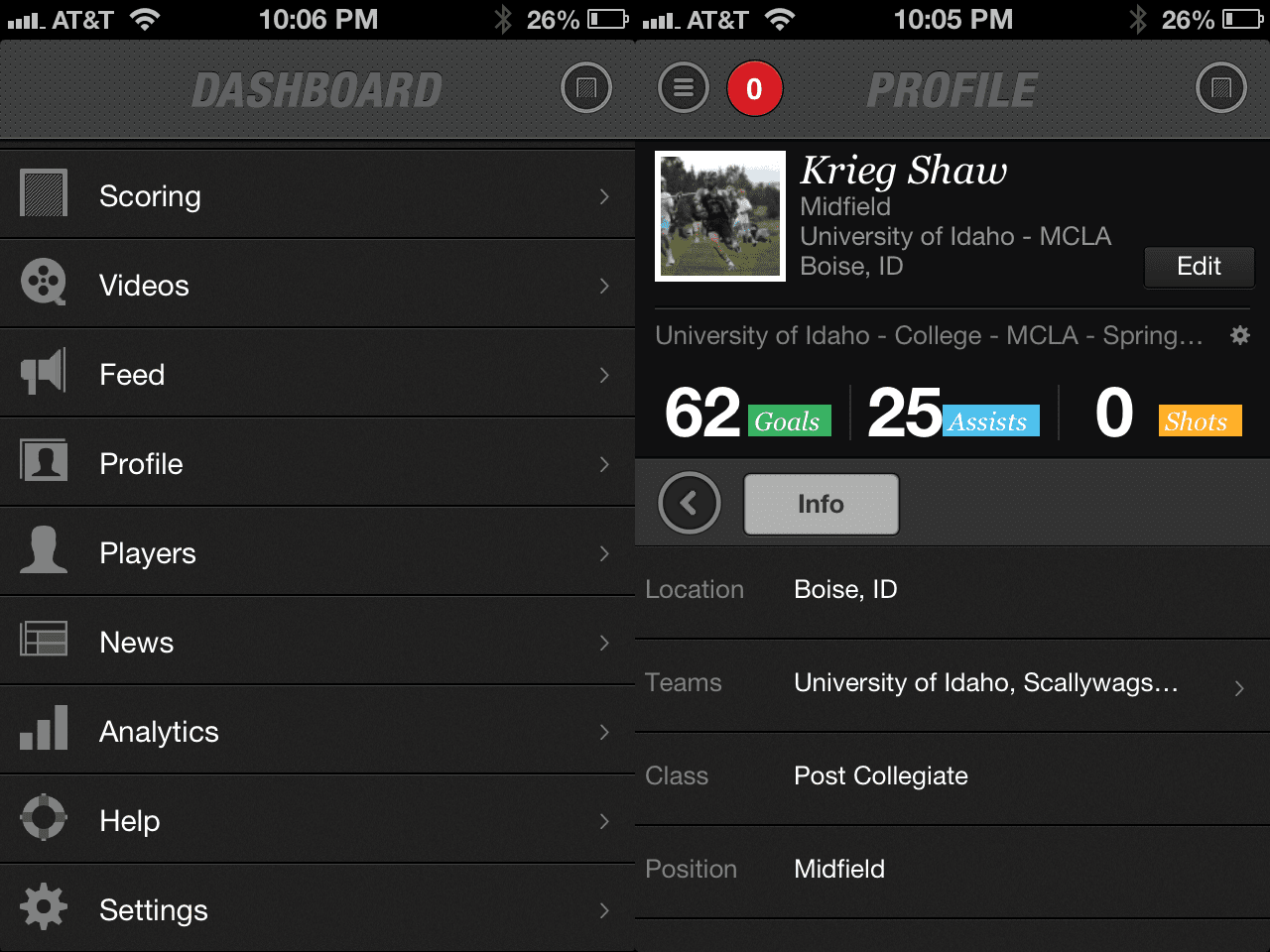 RipNet: Homes Screen & Profile