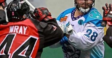Rochester Knighthawks Cody Jamieson NLL Photo credit: Larry Palumbo