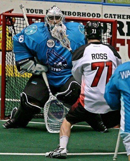 Rochester Knighthawks Philadelphia Wings NLL Matt Vinc Photo:Larry Palumbo