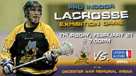 Syracuse Stingers Pro Lax - Feb 21