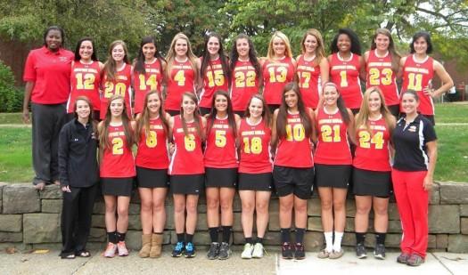 The Seton Hill Women's Lacrosse Team
