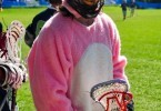 easter lacrosse bunny suit