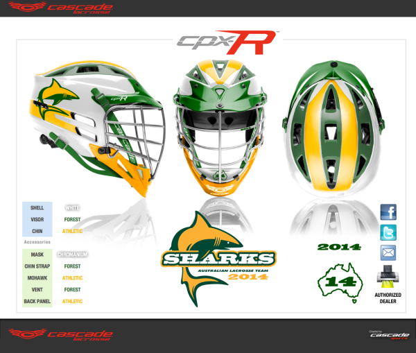 Cascade and Maverik Gear for Team Australia