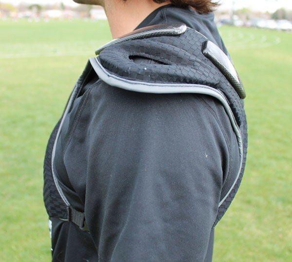 Reebok Black Shoulder Pads