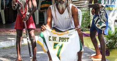 Jamaica Lacrosse CW Post Gear Drop