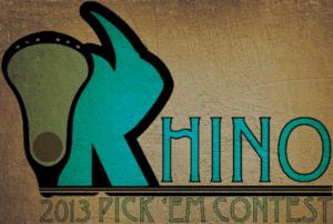 2013 Rhino Pick 'Em Contest