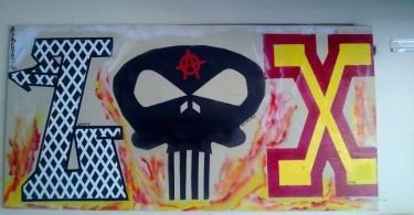 Lacrosse Wall