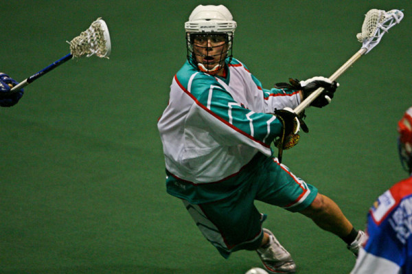 6 Nations Chiefs vs. peterborough lakers Box Lacrosse Photo credit: Larry Palumbo
