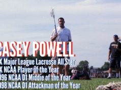 Lacrosse Legend Casey Powell on Greatness