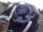 Great helmet logo from Upper Canada College.