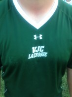 An old Villa Julie (now Stevenson) lacrosse shirt.